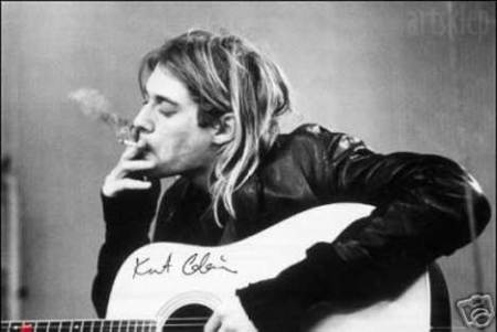Kurt Cobain injected Mike Starr with smack...