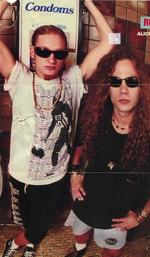 Layne Staley and Mike Starr