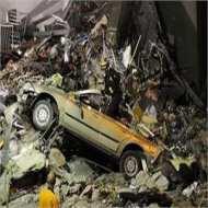Massive damage after 8.9 quake in Japan