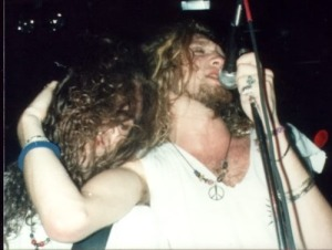 Mike and Layne performing back when they were able too.