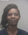 Mugshot of Toccara Daniels...child bully bus slapper