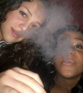 Smokin' Bobbi Kristina Brown...