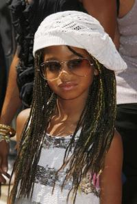 Willow Smith is an example of a 10-11-year old who dresses like an older person...