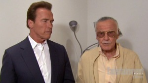Arnold and Stan make the announcement that the former Ca. governor was really a joke!!!