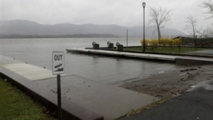 Newburgh boat ramp where 25-year-old Lashanda Armstrong drove her minivan into the Hudson River