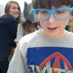Fake Apple Store Kid Trevor...in the tradition of Pat Boone