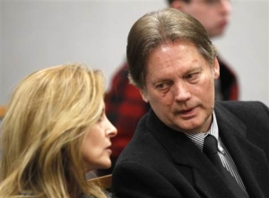 Keith Brown and his wife who was not charged for negligence