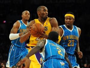 Kobe vs. Hornets