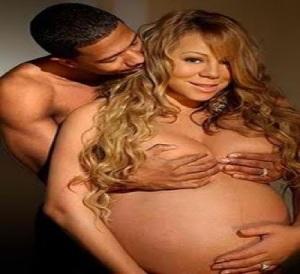 Nick and pregnant Mariah