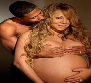 Nick and pregnant Mariah