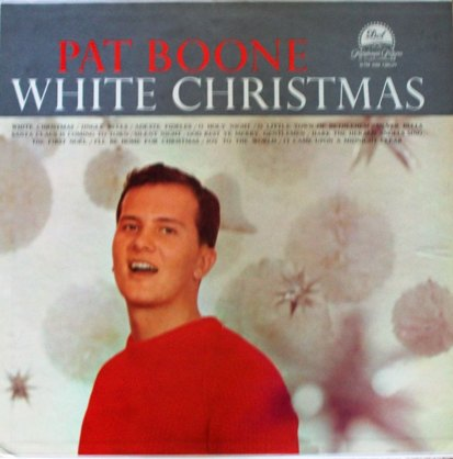 Pat Boone cover for White Christmas