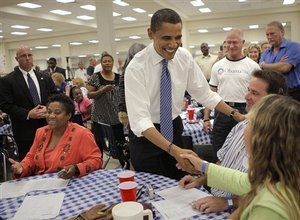President Obama Comforting The Survivors Of the Storm