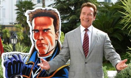 """Arnold is...""""The Governator"""""""
