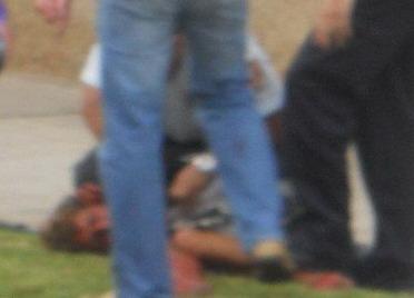 Attacker tackled after killing