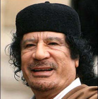 Gaddafi is a coward