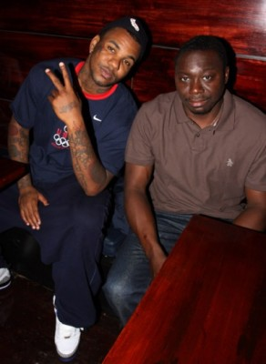 Game and Jimmy Henchman comparing notes...