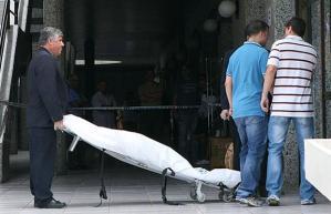 Jennifer's beheaded and dead body