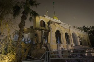 Libyan air strike by NATO kills Gadhafi's youngest son and 3 grandchildren