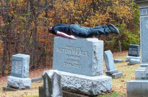 Planking on Acton's Grave