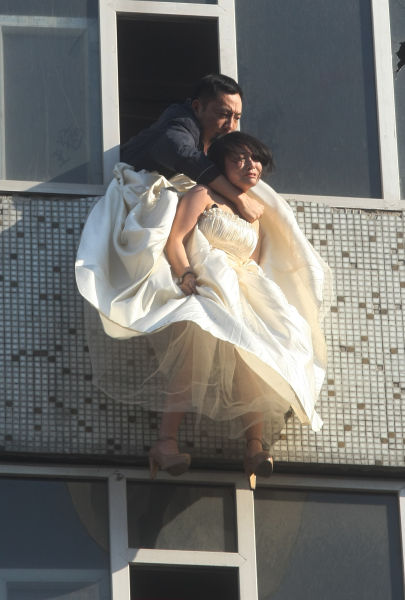 Pulling in the suicide bride