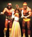 Randy Macho Man Savage and HulkHogan