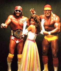 Randy Macho Man Savage and Hulk Hogan