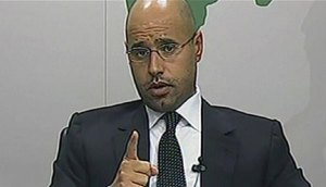 Saif-al-Islam-Gadhafi,38, should be next!!!...let the rivers flow with his blood,not the Libyan people's