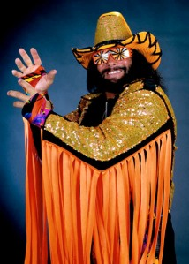 WWE Professional wrestler Randy Macho Man  Savage