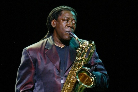Clarence Clemons Performing With Bruce Springsteen & the E Street Band On Tour