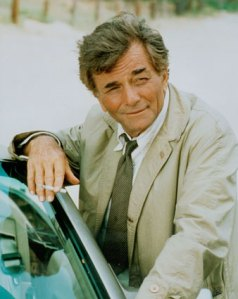 Peter Falk as Det. Lt. Columbo