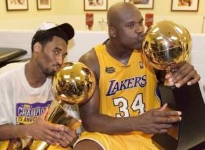Shaq and Kobe's Championship seasons
