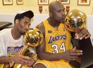 Shaq and Kobe's Championship seasons