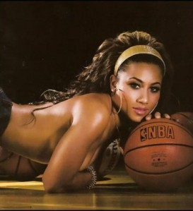 Shaq's girlfriend Nicole Hoopz Alexander...will she stay or will she go?