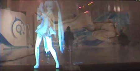 Hitsune Miku Holographic concert is a visual delight!!