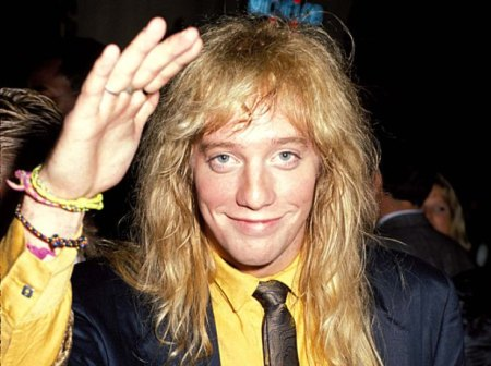 Jani Lane,47, has left the room (Photo by Jeff Kravitz/FilmMagic, Inc)