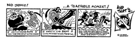 LA Beat KKKops...No Joke! 90's (OG-URB magazine) (C)Brice Productions 2011