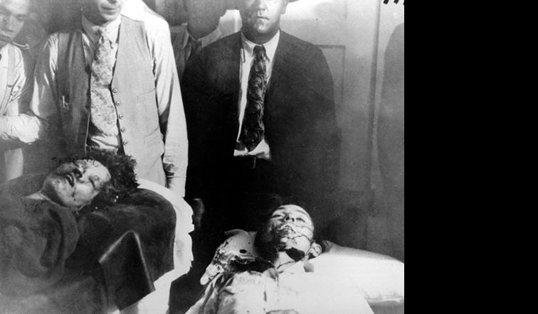 Real Bonnie and Clyde Death Car