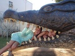 Giant croc ate a 12 year old girl!!!